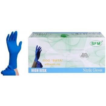 Перчатки нитриловые HIGH RISK