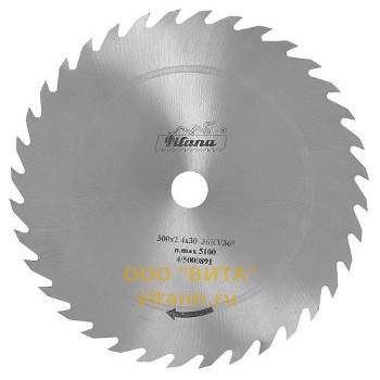 Пила дисковая без напаек Ø500 х свыше 2.8 для продольной распиловки