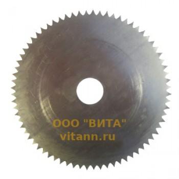 Пила дисковая без напаек Ø500 х 2.2-2.8 для поперечной распиловки