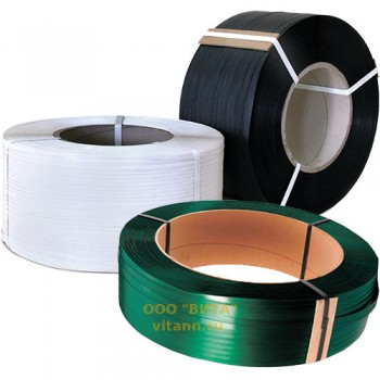 Стреппинг лента упаковочная полипропиленовая 15мм х 1,0мм х 1200м