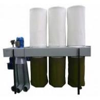 Установки вентиляционные пылеулавливающие (стружкоотсосы) и шланги к ним